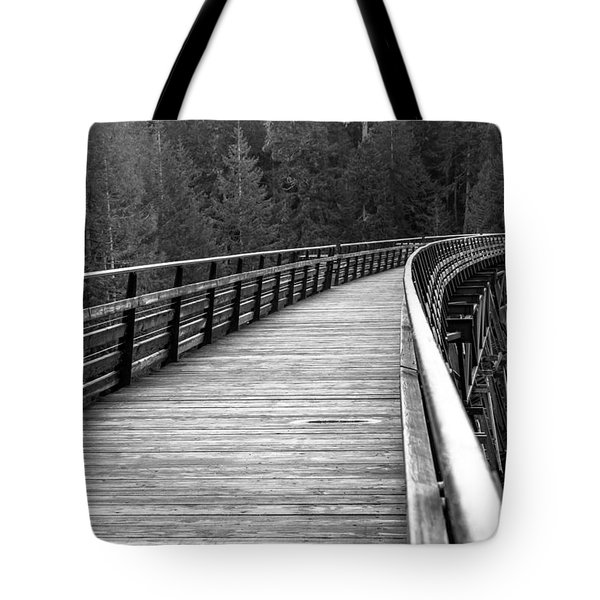 Kinsol Trestle Boardwalk  Tote Bag