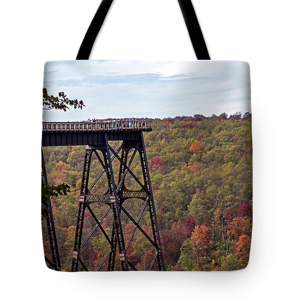 Kinzua Bridge Tote Bag