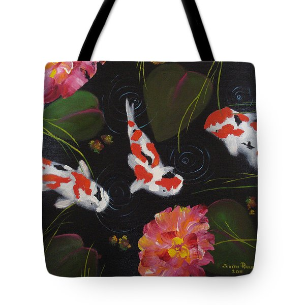 Kippycash Koi Tote Bag