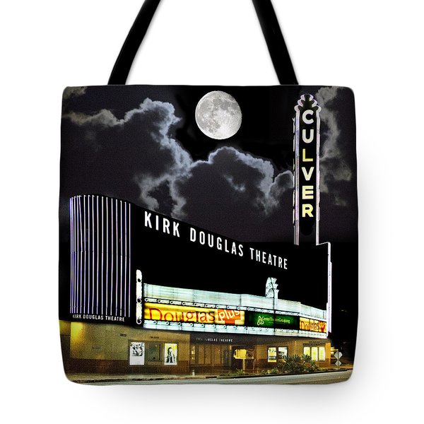 Kirk Douglas Theatre Tote Bag by Chuck Staley