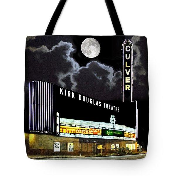 Kirk Douglas Theatre Tote Bag