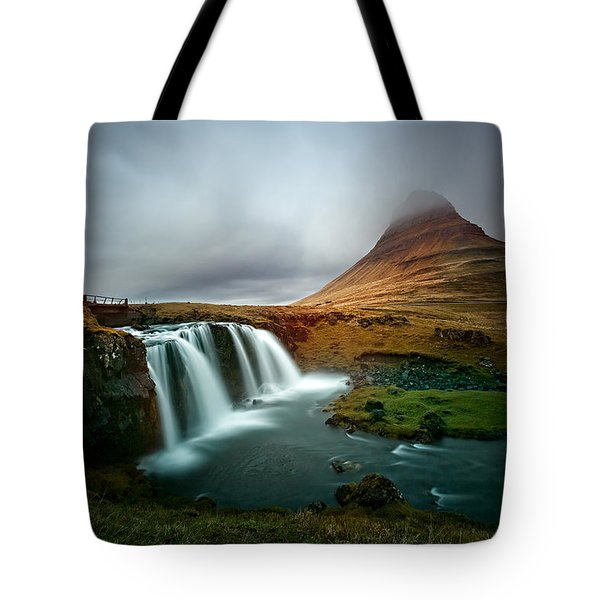 Kirkjufell Tote Bag by Ian Good