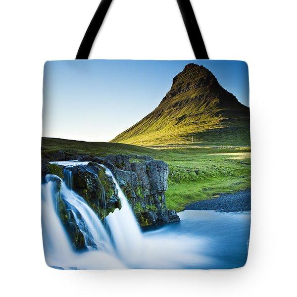Kirkjufell Mountain Tote Bag by Gunnar Orn Arnason