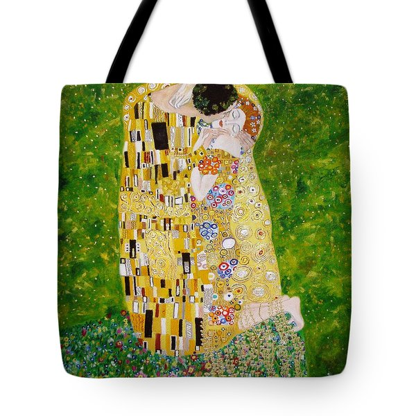 Kiss G.klimt Tote Bag