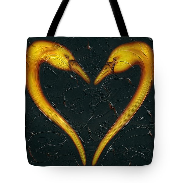 Kiss Tote Bag by Kenneth Clarke