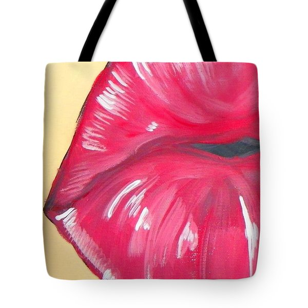 Kiss  Tote Bag by Marisela Mungia