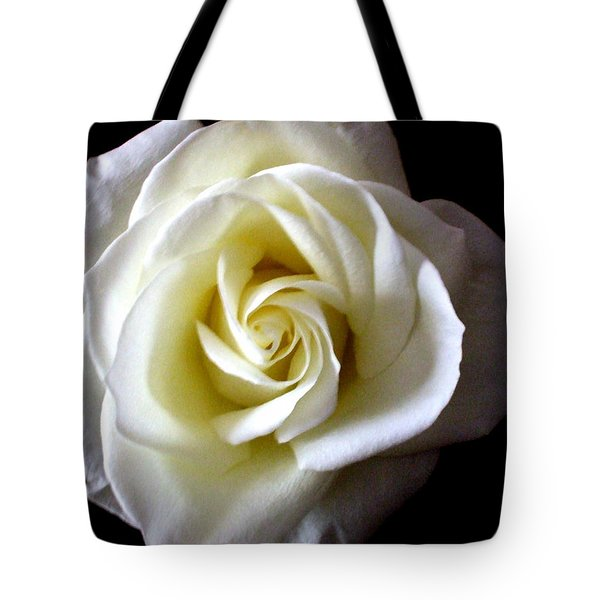 Tote Bag featuring the photograph Kiss Of A Rose by Shana Rowe Jackson