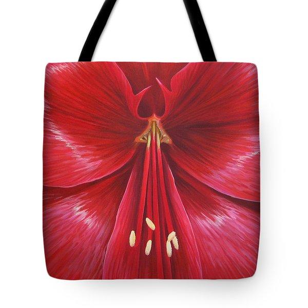 Kiss Of Life Tote Bag by Hunter Jay