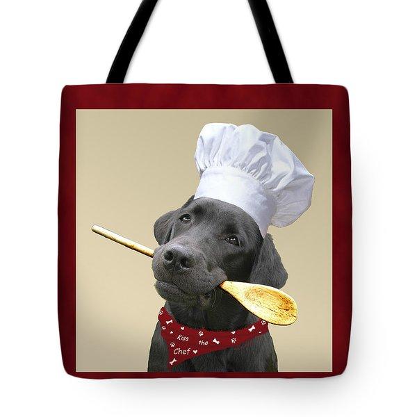 Kiss The Chef Tote Bag