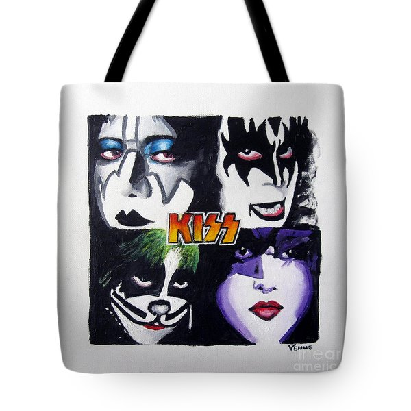 Kiss Tote Bag by Venus