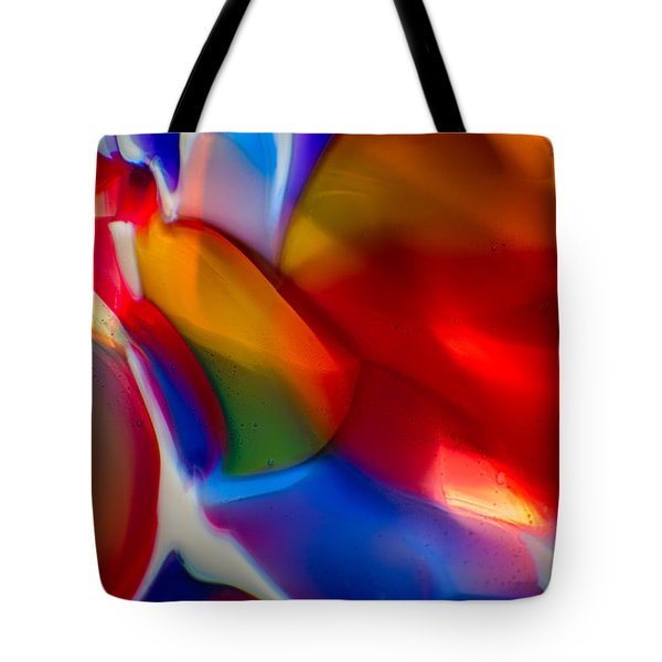 Kissy Face Tote Bag by Omaste Witkowski