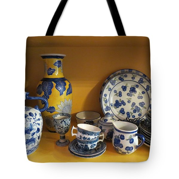 Tote Bag featuring the photograph Kitchen Collection by Ramona Johnston