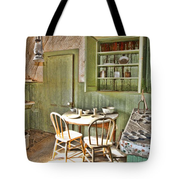 Kitchen In Bodie By Diana Sainz Tote Bag