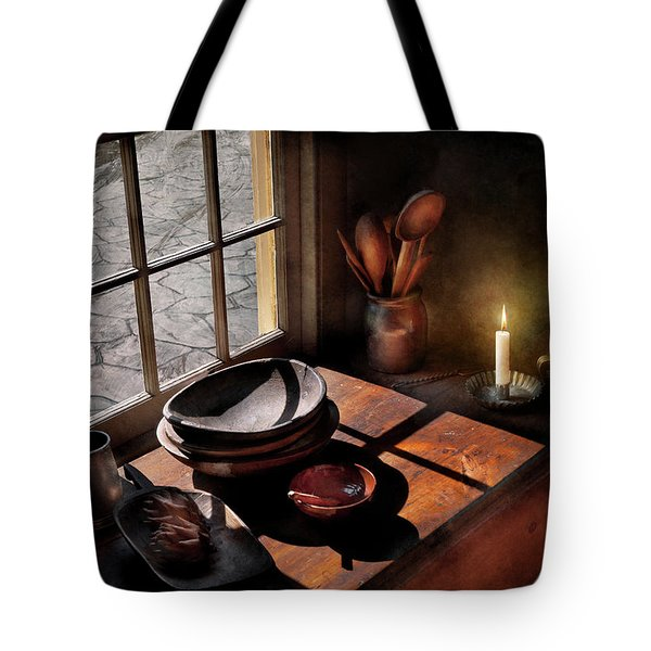 Kitchen - On A Table II  Tote Bag by Mike Savad