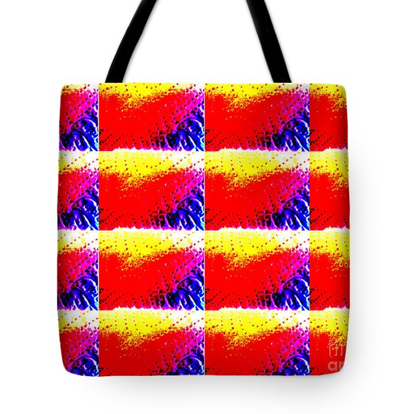 Kitchen Roll Pop Art  Tote Bag by Martin Howard