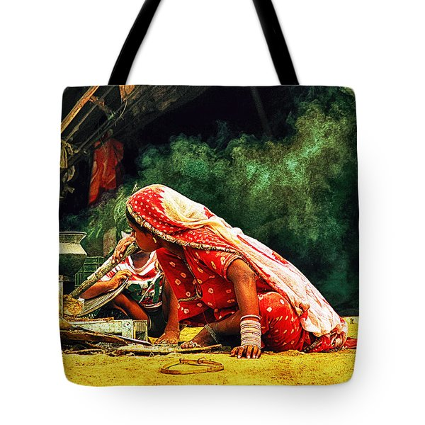 Kitchens Of India Tote Bag