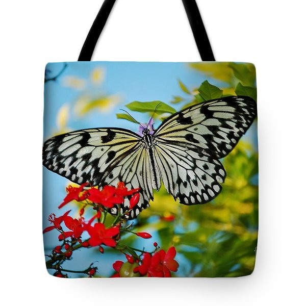 Kite Butterfly Tote Bag