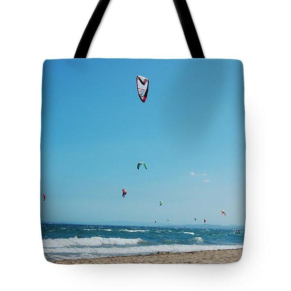 Kitesurf Lovers Tote Bag