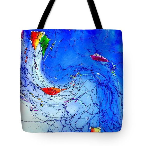 Kitewave Tote Bag by Anne Duke