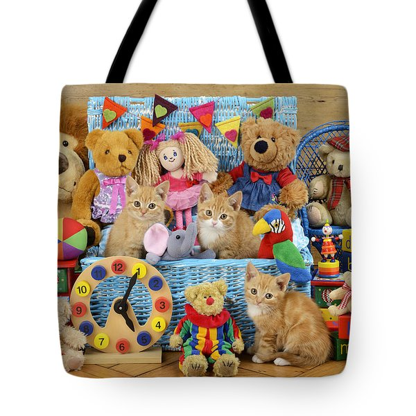 Kitten Dress Box Ck526 Tote Bag by Greg Cuddiford
