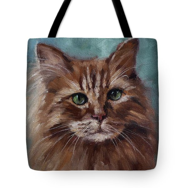 Kitty - Custom Pet Portrait Tote Bag