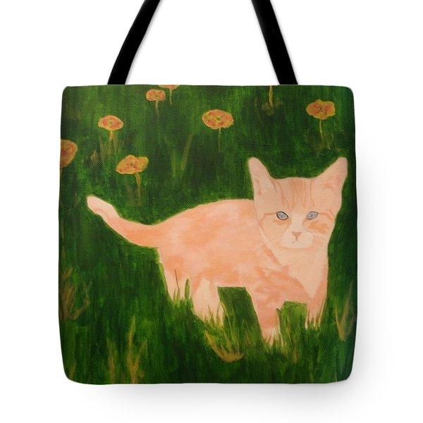 Kitty Tote Bag