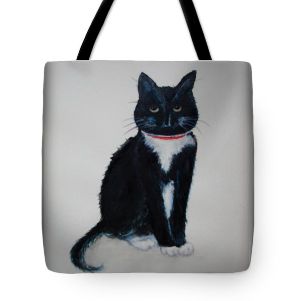 Kitty - Painting Tote Bag
