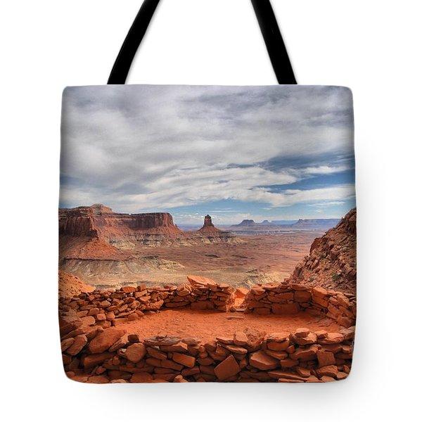 Kiva Canyon Tote Bag by Adam Jewell