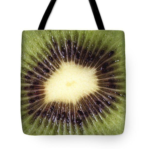 Kiwi Cut Tote Bag
