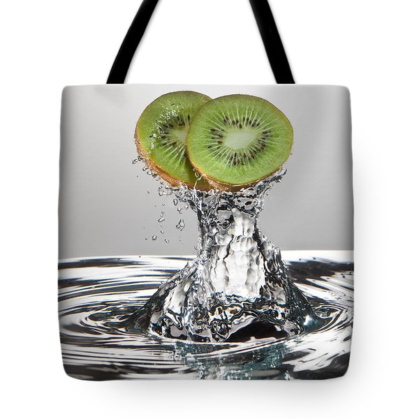 Kiwi Freshsplash Tote Bag by Steve Gadomski