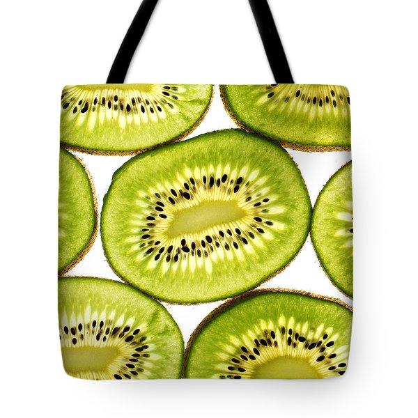 Kiwi Fruit IIi Tote Bag by Paul Ge