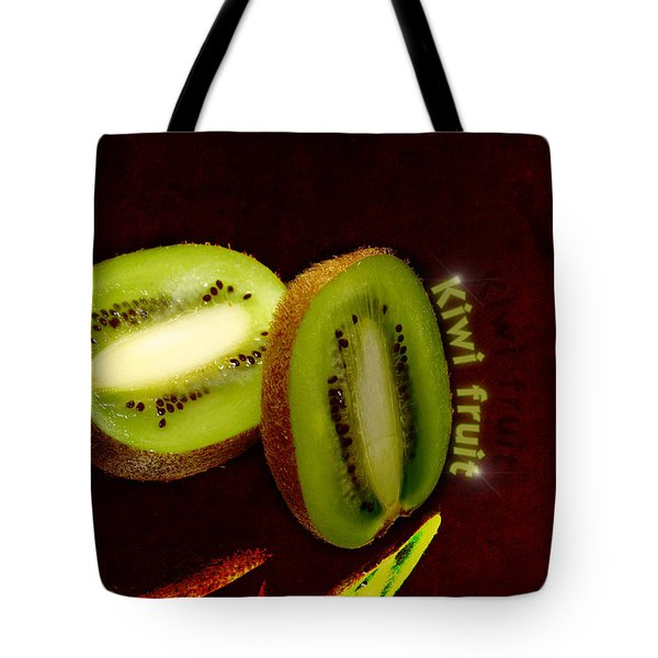 Kiwi Fruit Tote Bag by Toppart Sweden