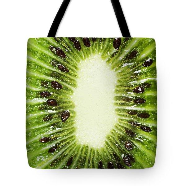 Kiwi Slice Tote Bag by Chris Knorr
