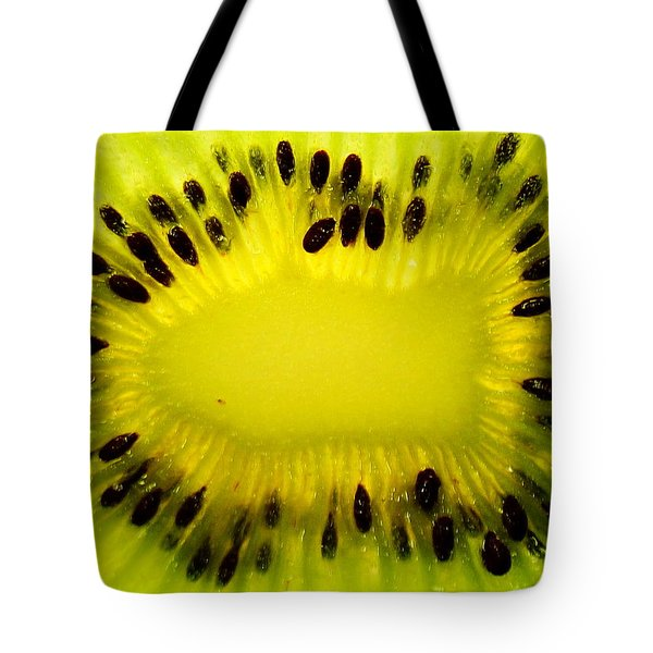 Kiwi Sunflower Tote Bag