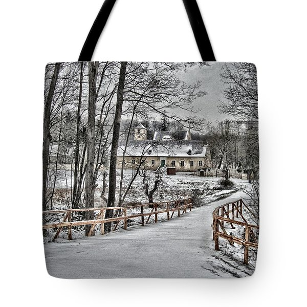 Tote Bag featuring the photograph Kloster St. Anna  by Gabriella Weninger - David