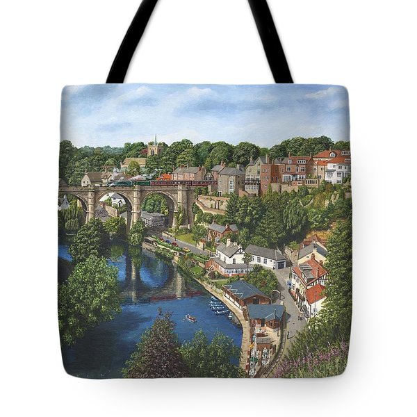 Knaresborough Yorkshire Tote Bag