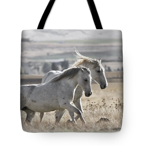 Tote Bag featuring the photograph Knee Deep D3505 by Wes and Dotty Weber