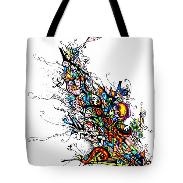 Kneeling Angel Tote Bag