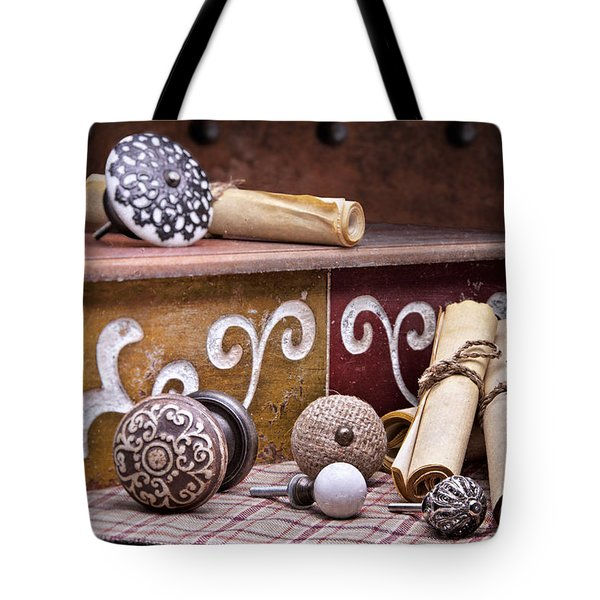 Knobs And Such Still Life Tote Bag