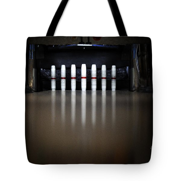 Knock Em Down Tote Bag by Luke Moore