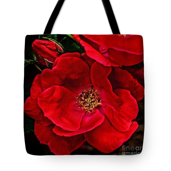 Knockout Red Tote Bag