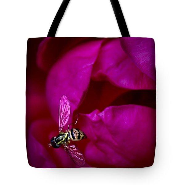 Knockout Rose Investigation Tote Bag