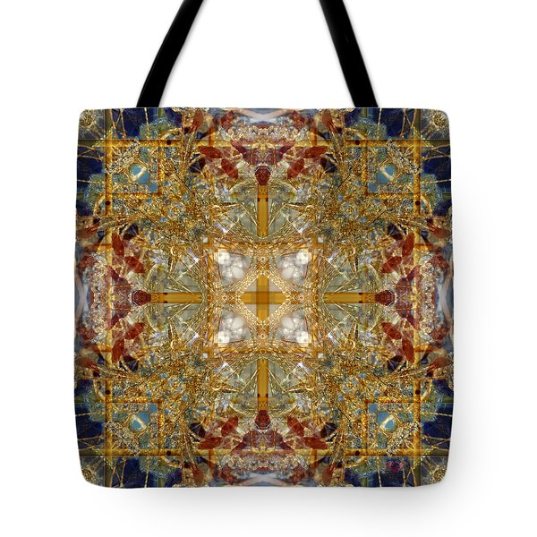 Knots Xii Tote Bag by Kenneth Hadlock