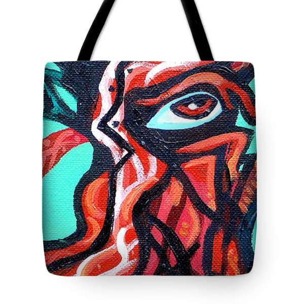 Knotted Tree 2 Tote Bag by Genevieve Esson