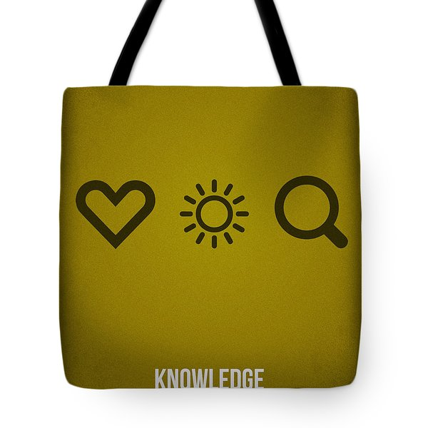 Knowledge Tote Bag by Aged Pixel