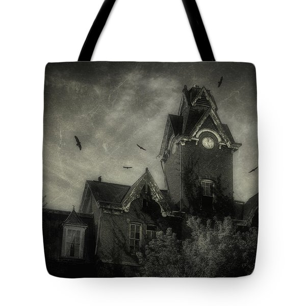 Knox County Poorhouse Tote Bag by Tom Mc Nemar