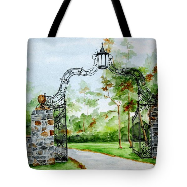 Knox Estate Tote Bag