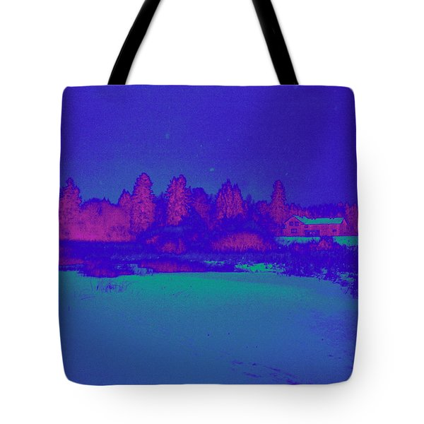 Knuutila Infrared Tote Bag by Jouko Lehto