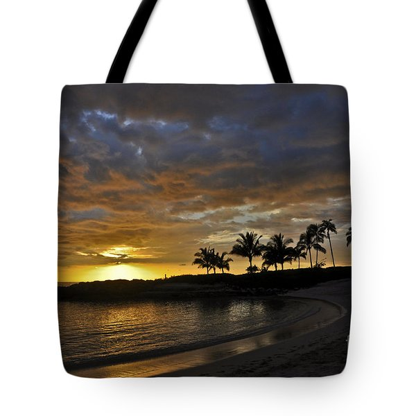 Tote Bag featuring the photograph Golden Paradise by Gina Savage