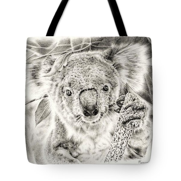 Koala Garage Girl Tote Bag by Remrov